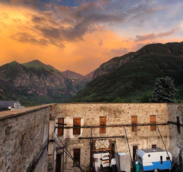 Happy to call Telluride home ❣️ * * * * #colorado #telluride #telluridearts #sunset #love #community #coloradocreative