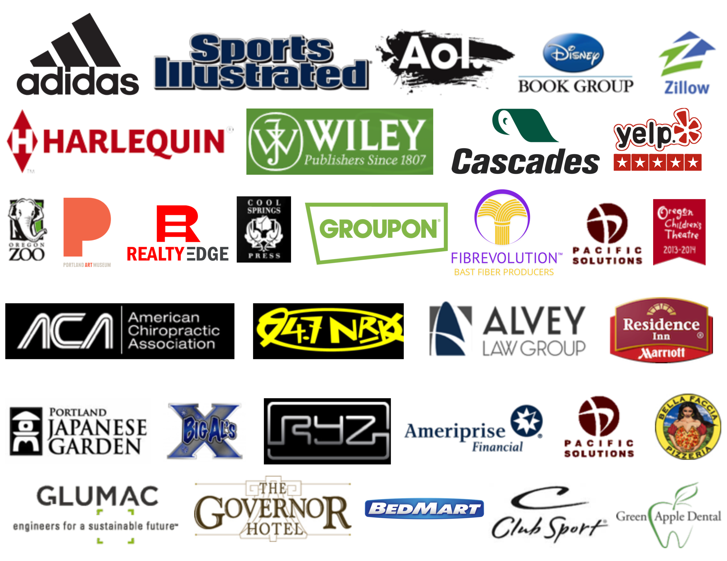 Recent clients of StereoEye Productions