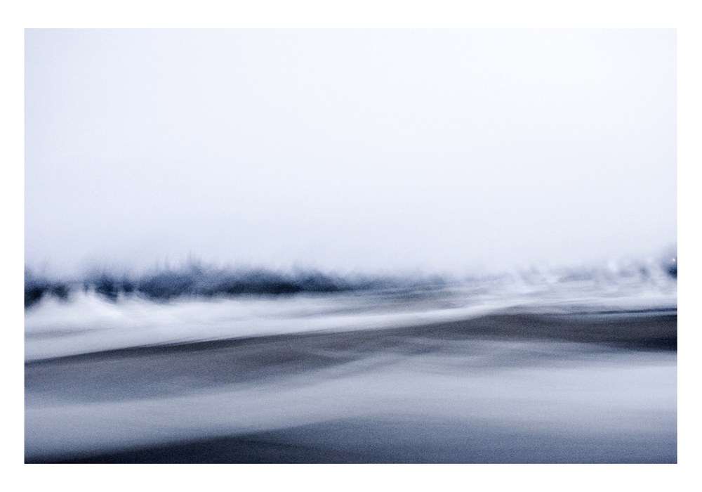 GABRIELA GARCIA-LUNA ,  Whitescape s-  Wave , 2012. Pigment print on paper 26 1/4 in x 37 1/2""