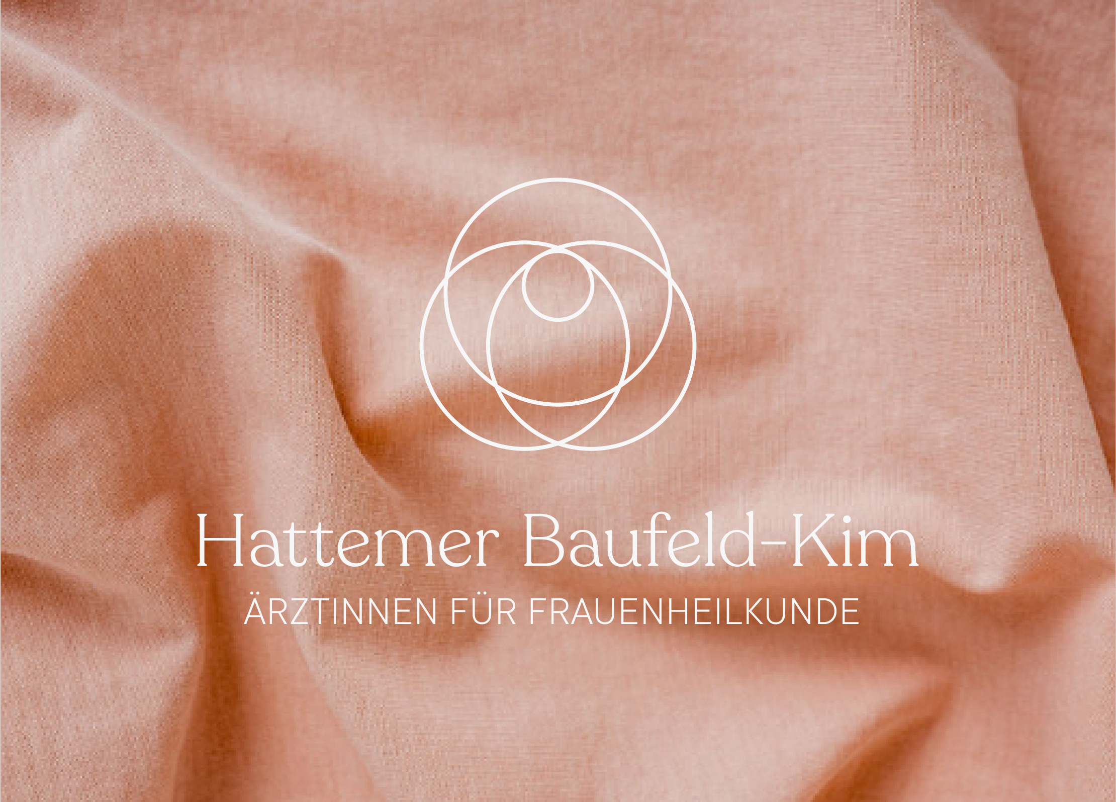 Identity, collateral & website for gynaecologists  Hattemer Baufeld-Kim