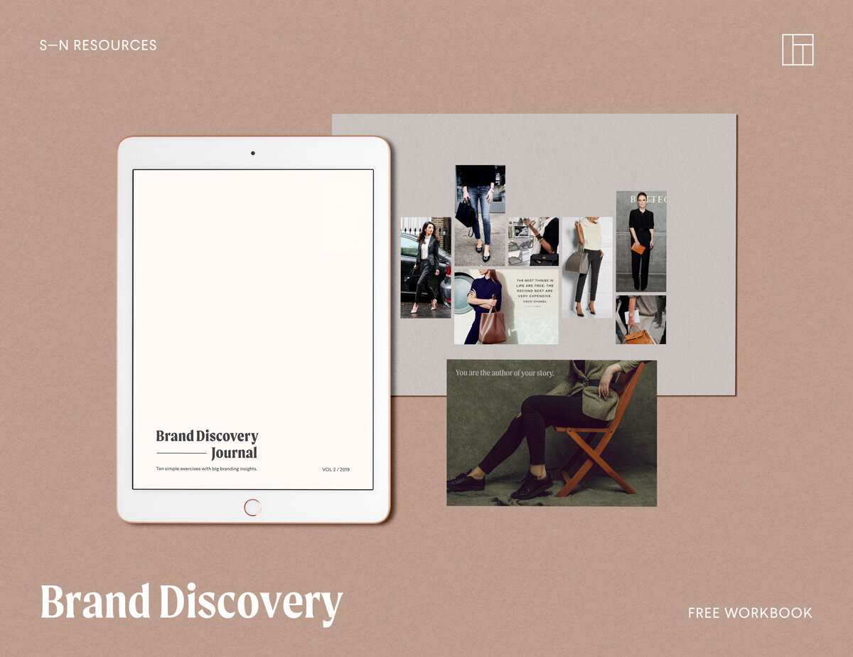 - Whether you are just starting out or want to elevate your existing brand, this Brand Discovery Journal takes you through the foundational steps of creating a purposeful brand.