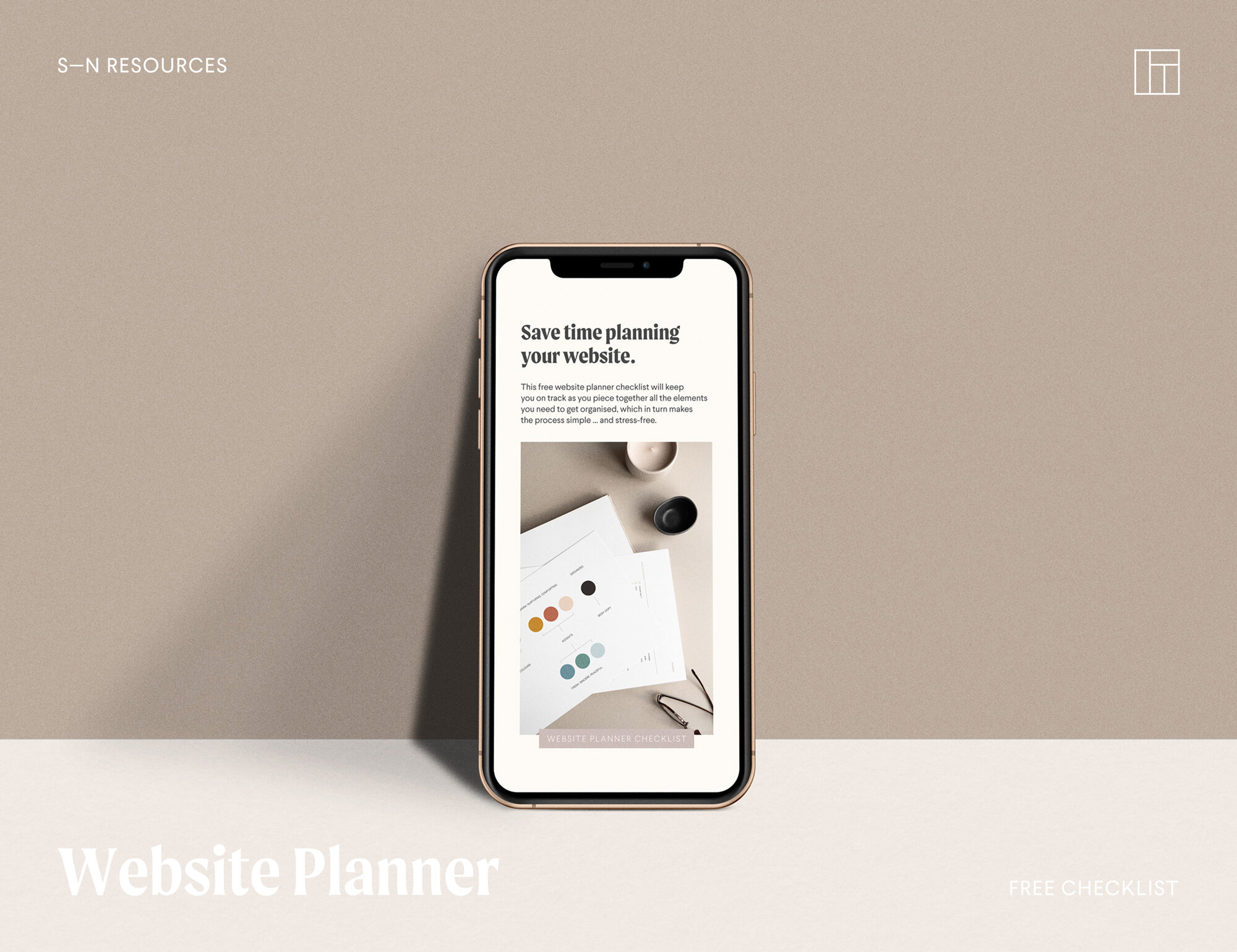 - This free Website Planner checklist will keep you on track as you piece together all the elements you need to get organised, which in turn makes the process simple … and stress-free.