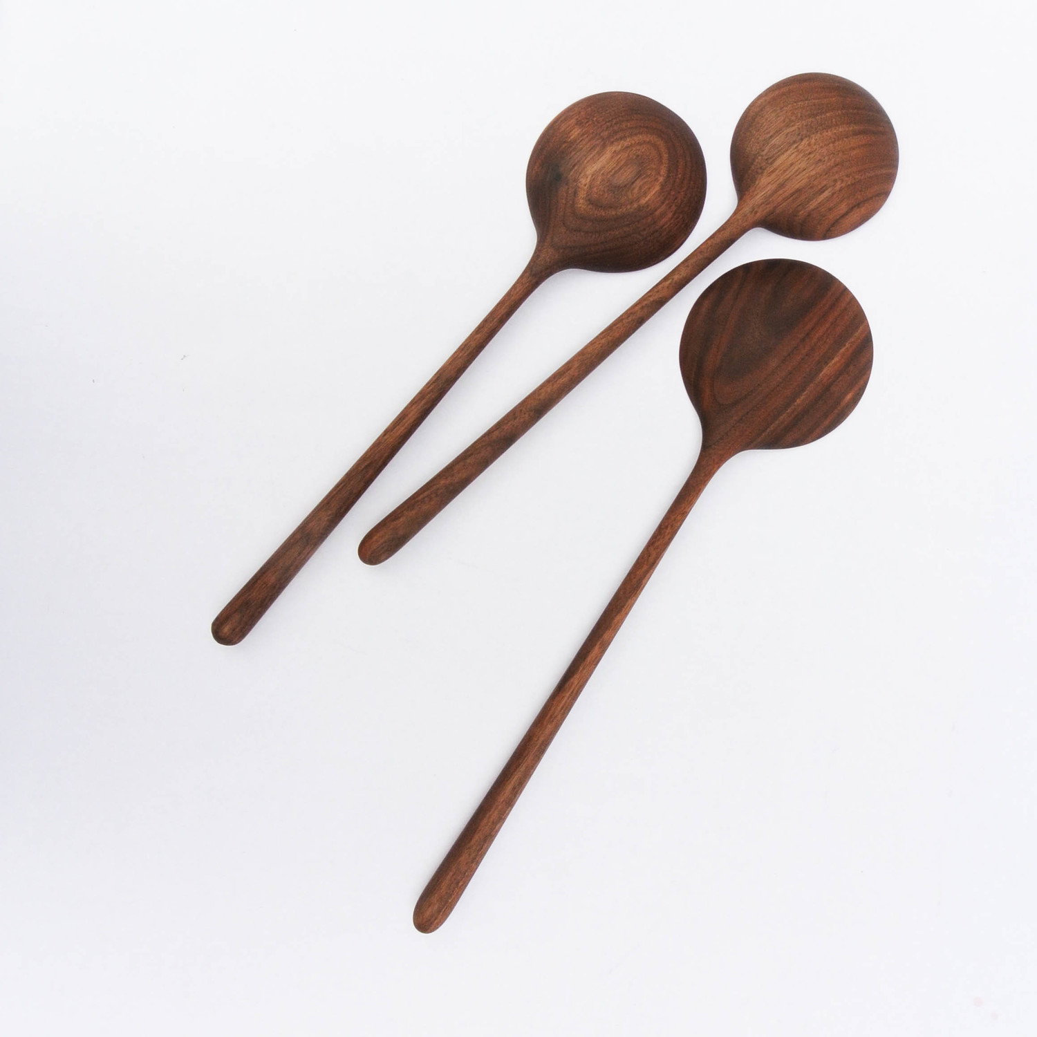 walnut spoons starting at $55 made to order, custom sizing available inquire for details
