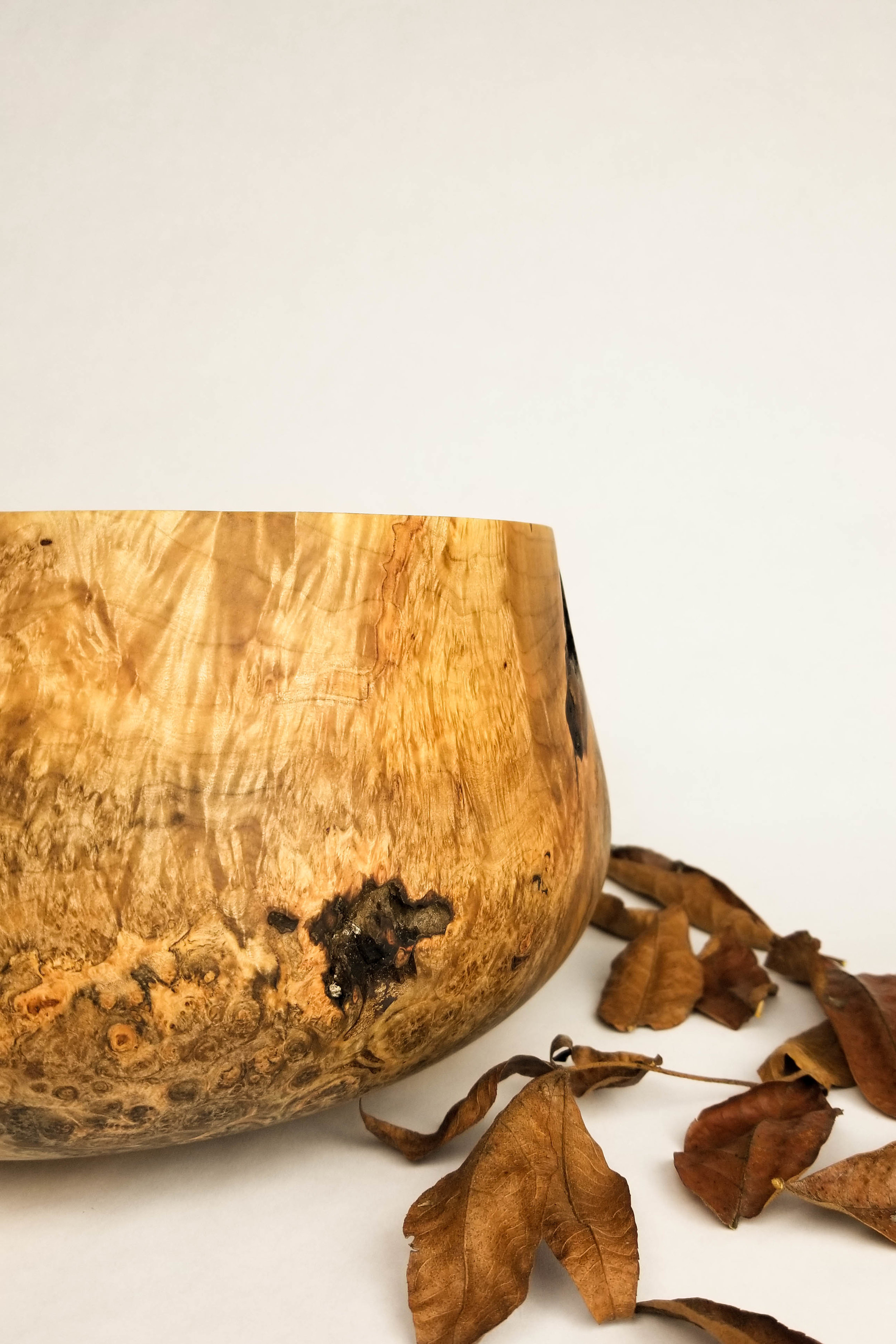 maple burl $495 1 vessel in stock, as pictured inquire for details