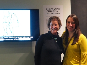 Sally Rafson, founder, and Courtney Lefebvre, volunteer