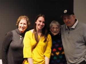 Sally Rafson, Courtney Lefebvre, Helen Owens, Dominic Fratangelo reuniting at Westmoreland Museum of American Art.