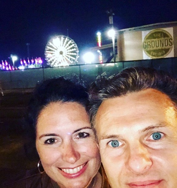 Had to give myself mercy also because I forgot to get a pic inside the fair so we snapped this while looking for our car LOL (the silly things we let cause us anxiety & waste emotional energy on!) Who cares? So we don't have a family pic from the fair this year. Life will go on just fine!