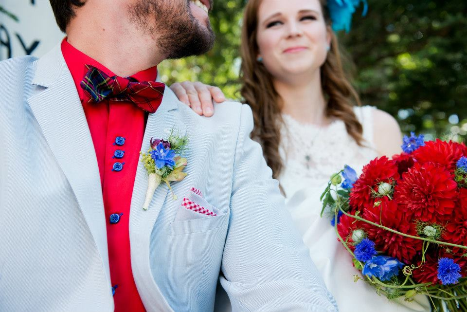 Everything-But-The-Ring-Grey-Suit-Red-Bow-Tie-Bouquet.jpg
