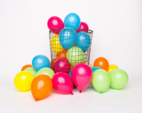 mini balloons