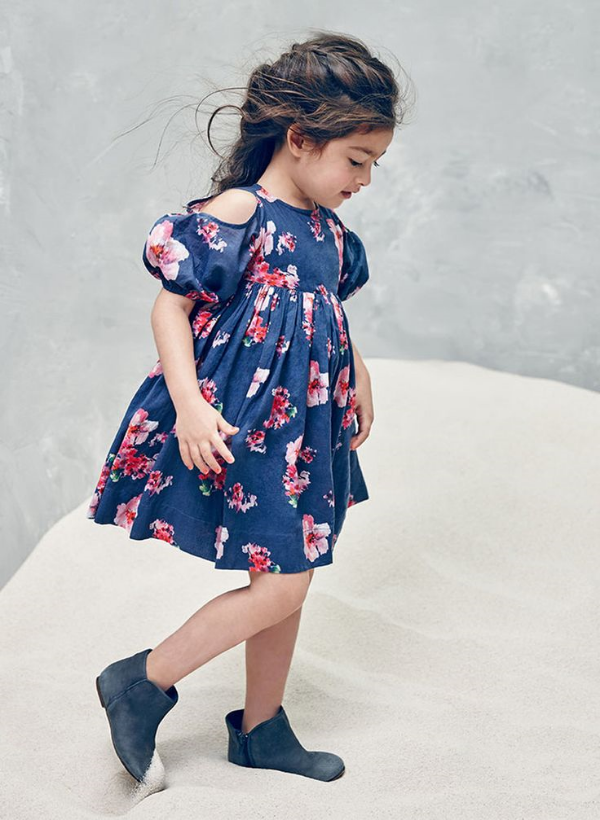 Vanessa Dress in Blossom Floral