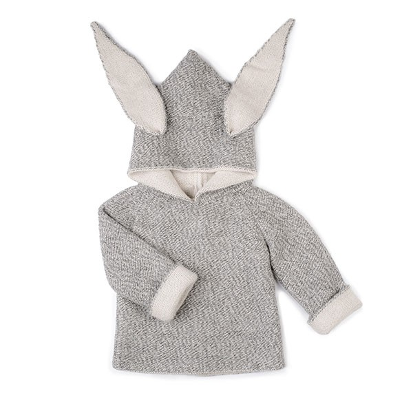 ANIMAL HOODIE-RABBIT