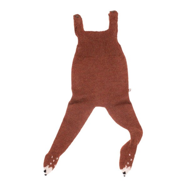 ANIMAL FOOTIE JUMPER - FOX
