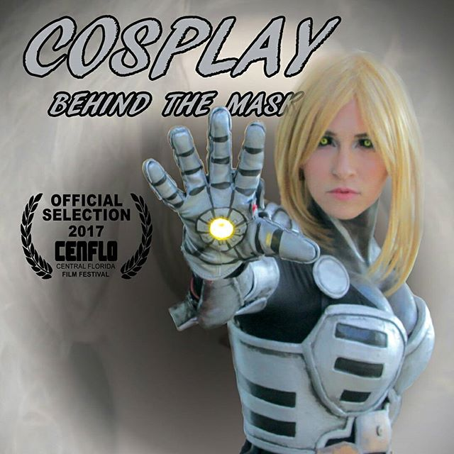 @tayrex about to blast you fools, Swipe to see behind the mask. ... You'd be a fool to miss the screening of Cosplay: Behind The Mask at the Central Florida Film Festival this weekend. 🎬