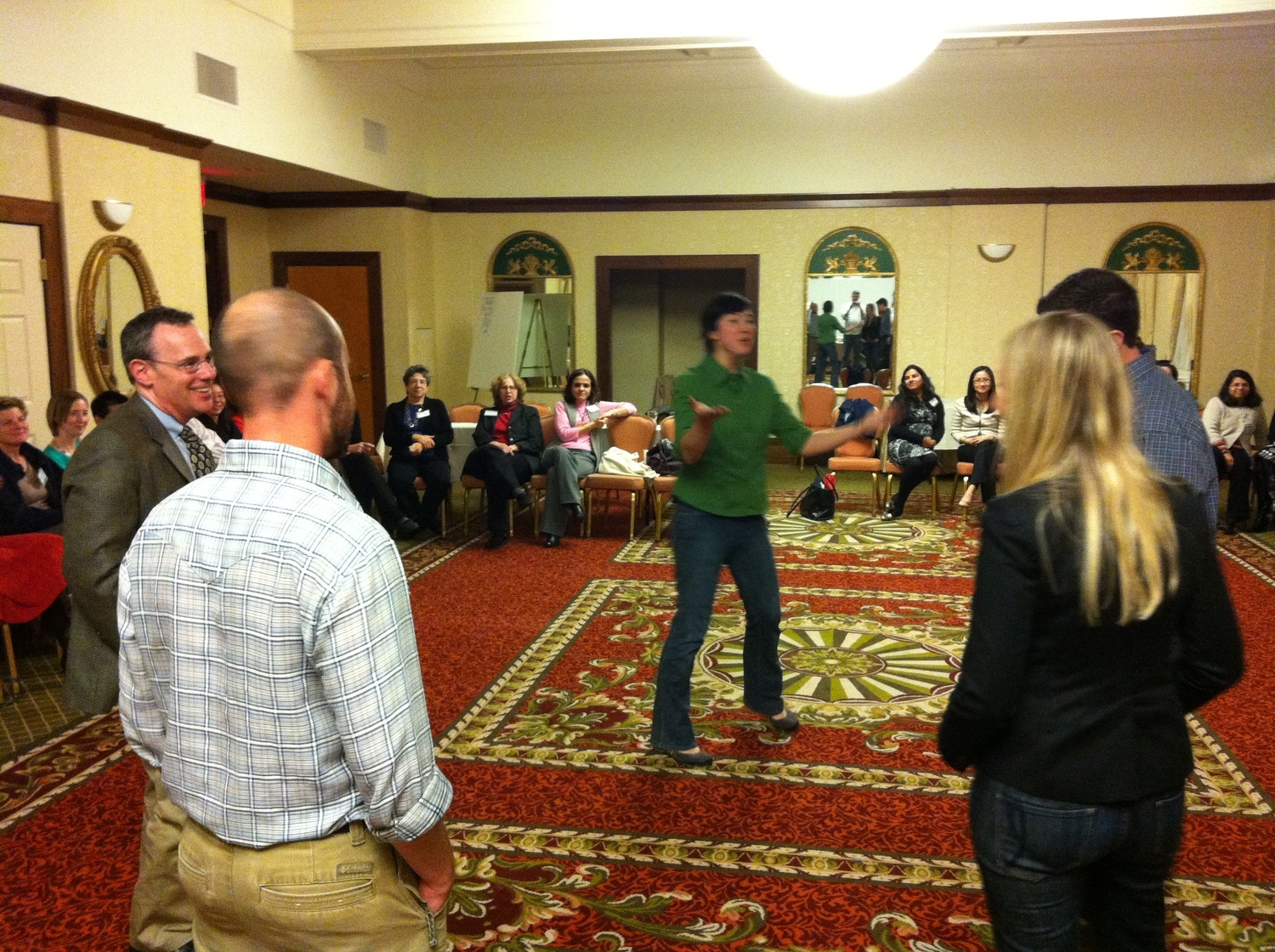 Improv Workshop at a Pediatric Conference in Providence