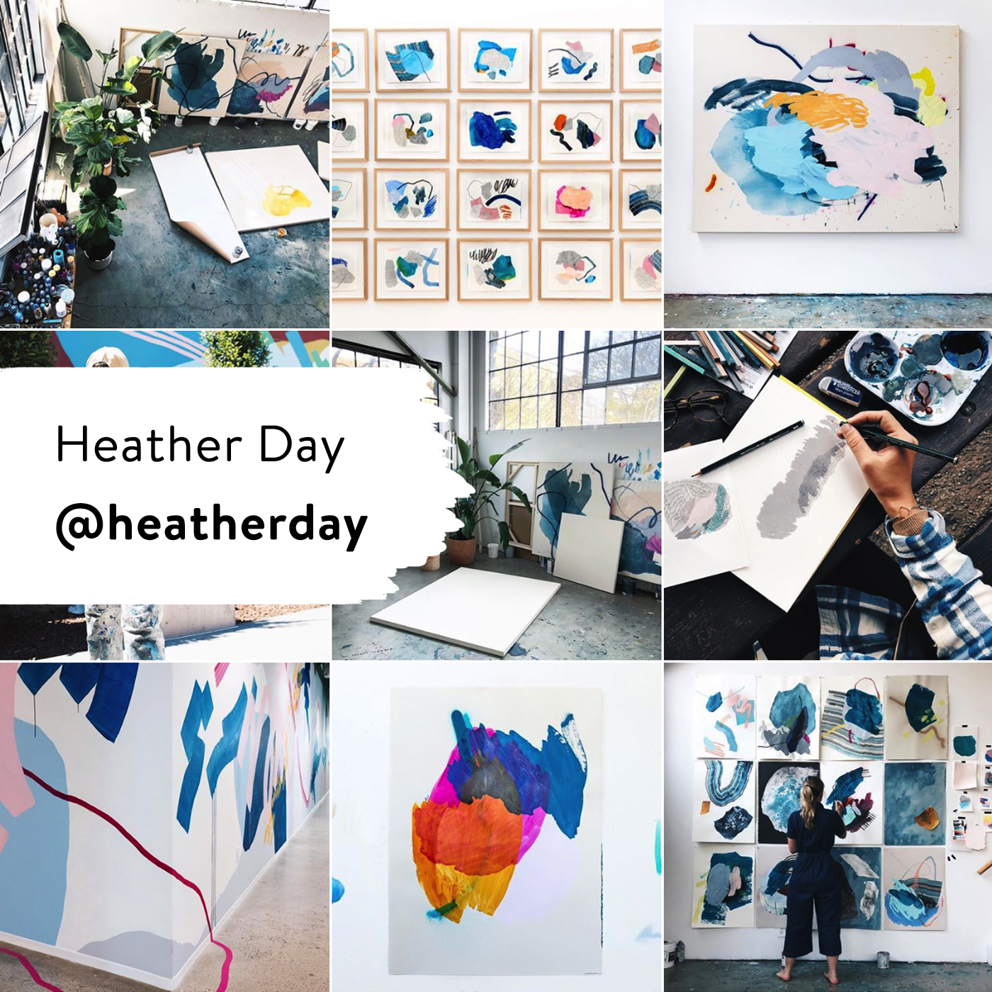 @heatherday 10 Painters to Follow on Instagram Right Now @creativestart