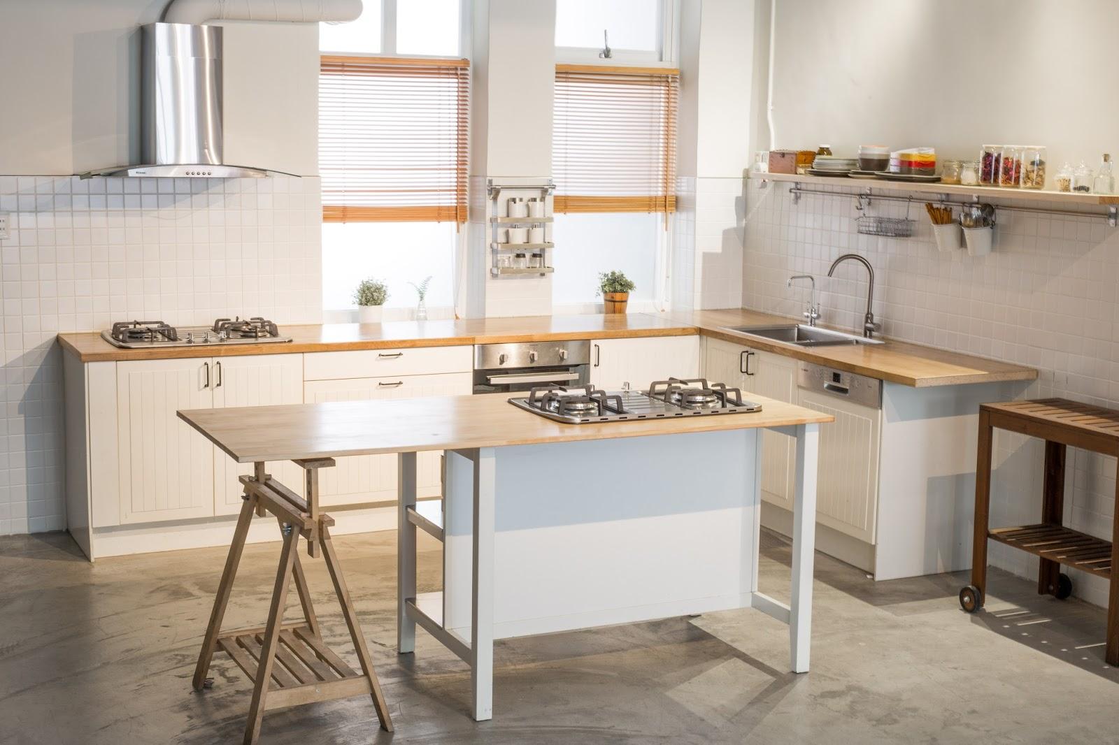 1F廚房空間實景