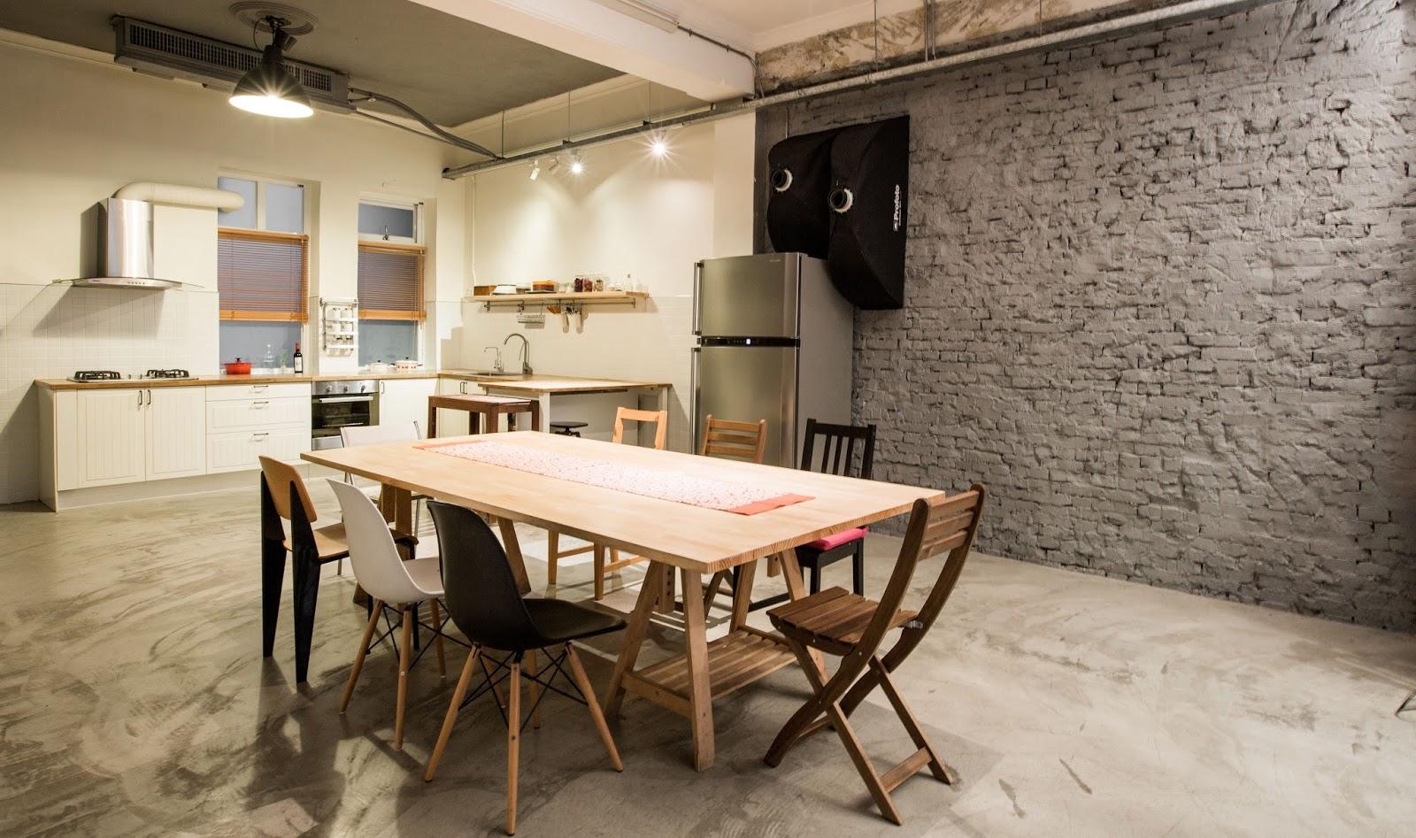 1F廚房實景