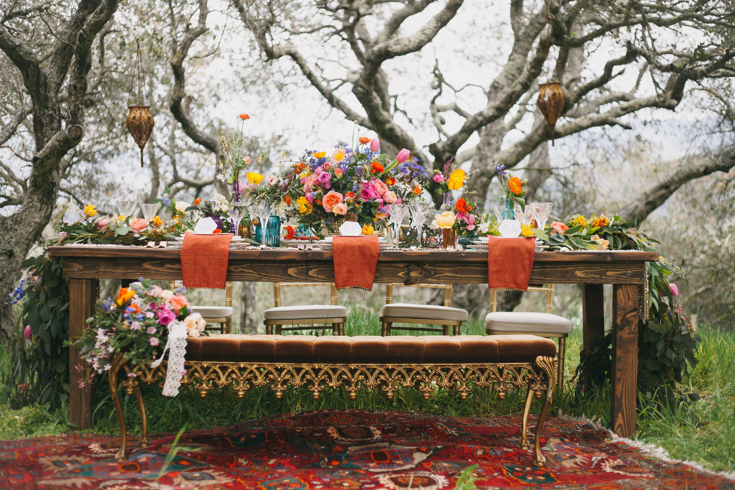 Bohemian Wedding Table