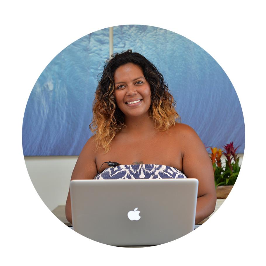 Julya Frattalone, resort host and guest relations // Hyatt Andaz