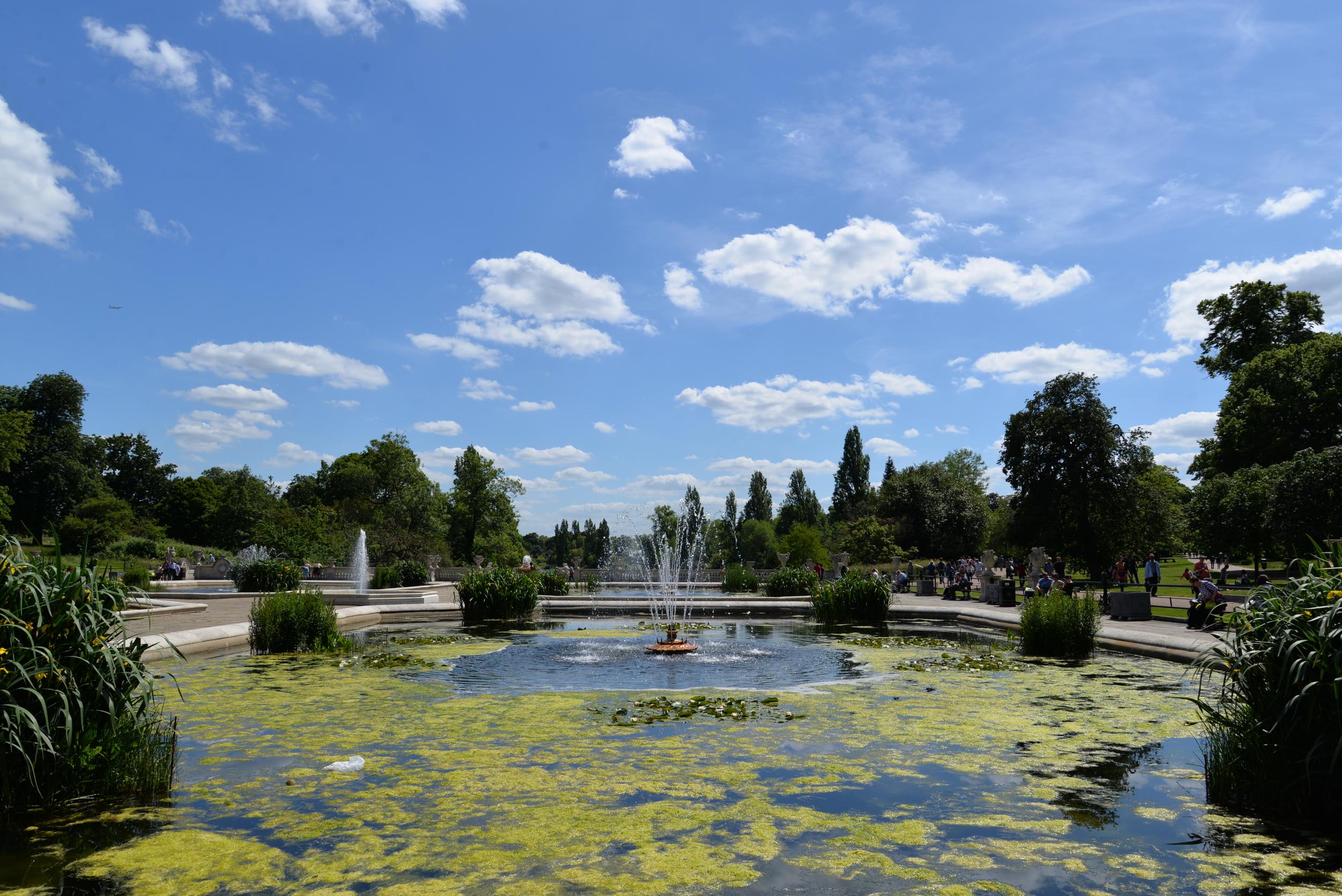 Take a stroll in Hyde Park