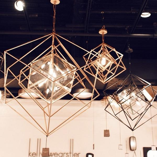 Kelly Wearstler  debuted a new line of  lighting