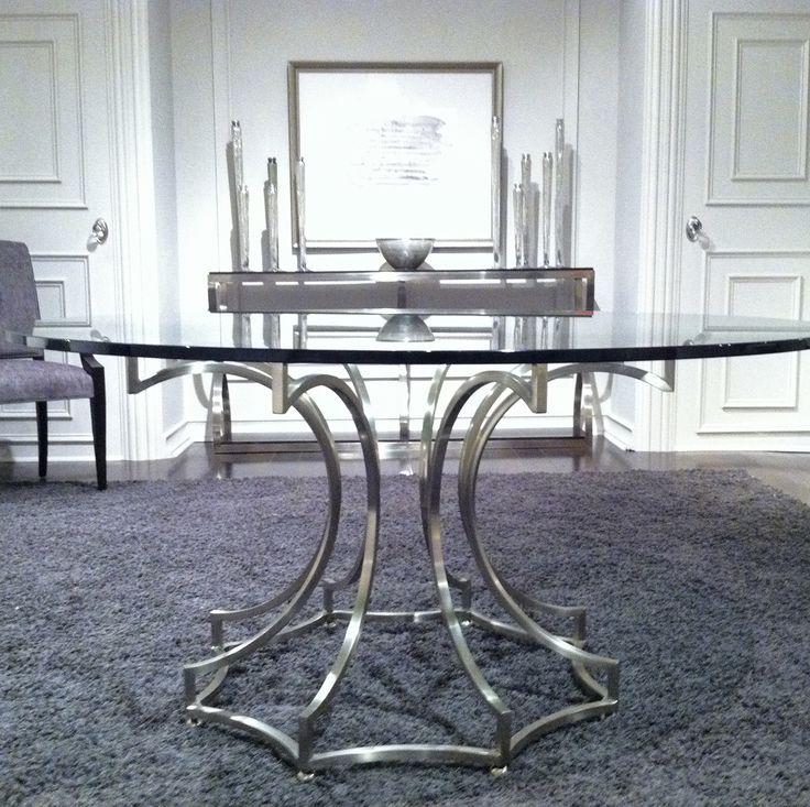 Bernhardt Miramont  Round Dining Table