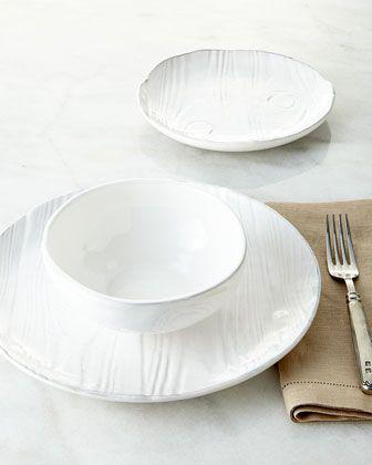 Wood-grain Design  Dinnerwear