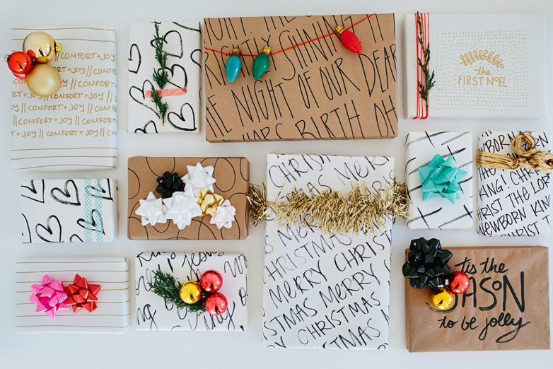 Inspirational wrapping by Walk In Love