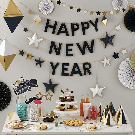 New Year garland from  Land of Nod