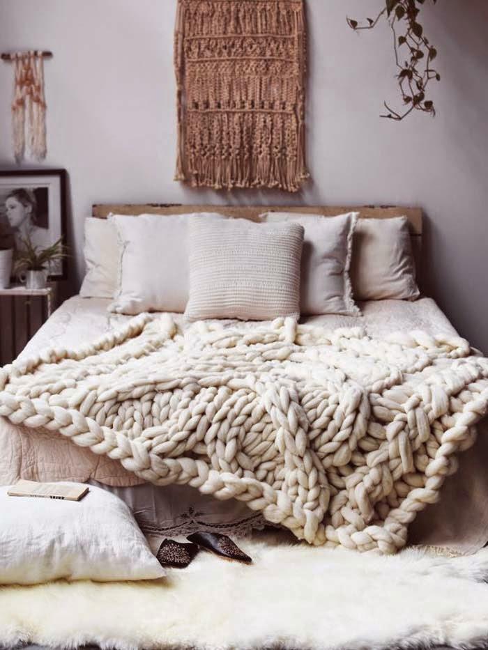 Bohemian knits on  Poppytalk