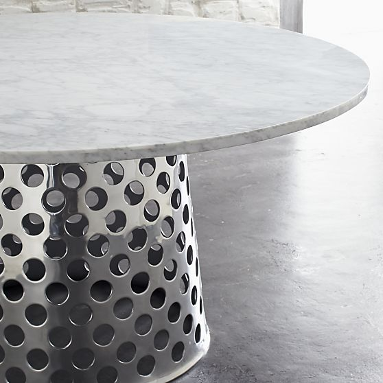 Como Round Dining Table at  Crate and Barrel