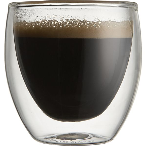 Bodum Pavina Espresso Cup  from Crate and Barrel