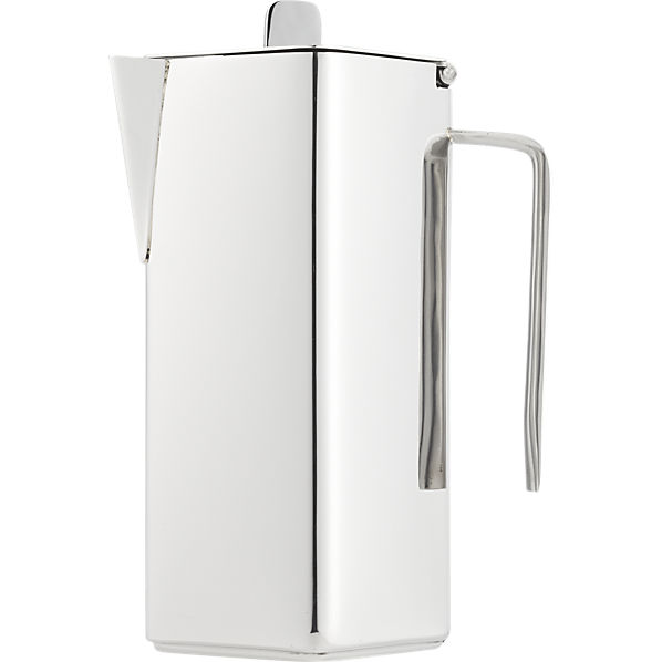 Vienna Stainless Steel Coffee Pot  from CB2