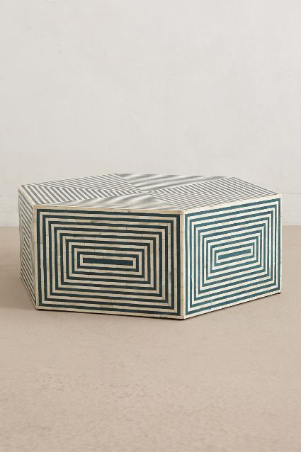 Anthropologie's  Hexa Inlay  Coffee Table