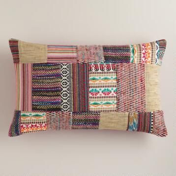 World Market's  Patchwork  pillow
