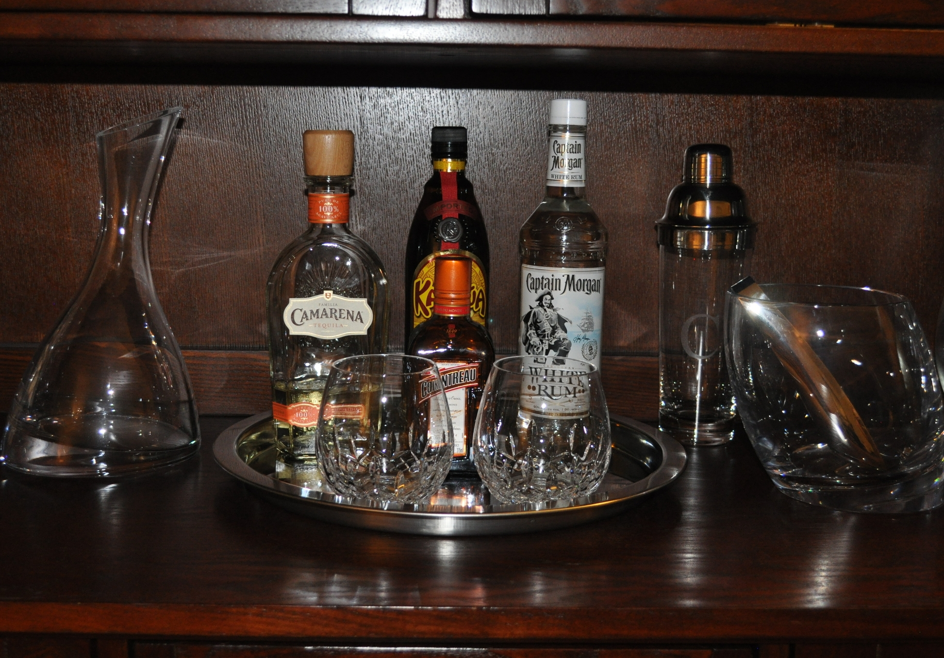 Mini-bar Tray
