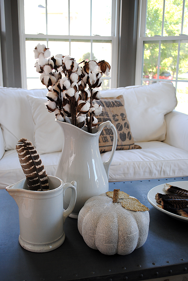 Inspiring fall decor from  The Graphics Fairy