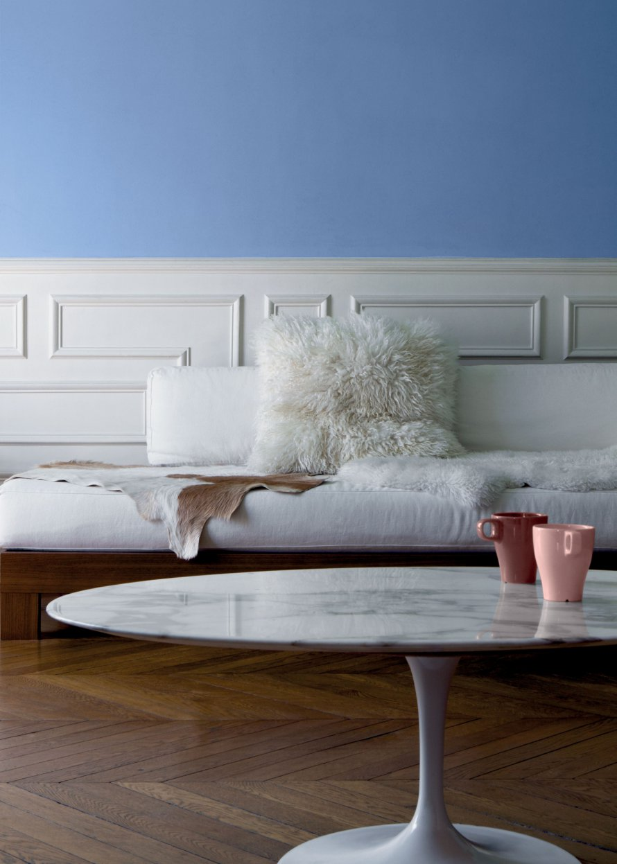 Want to relax in this space? Hop over to  Marie Claire Maison  for the details