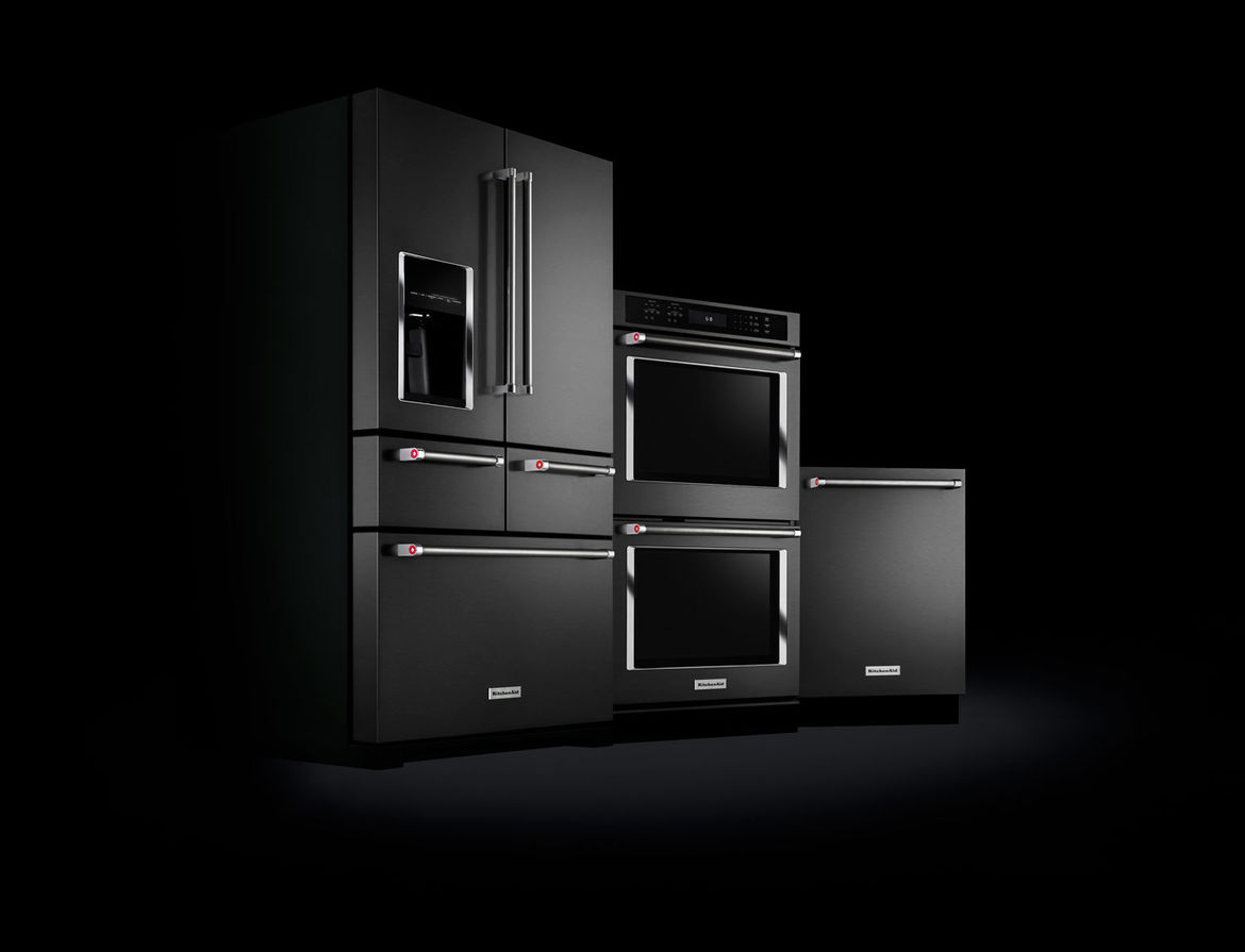Black Stainless from  KitchenAid