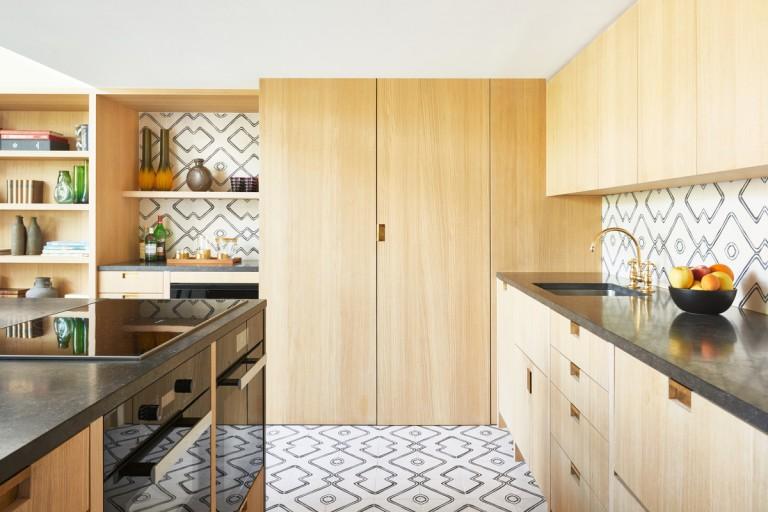 The kitchen of a Paris apartment  source