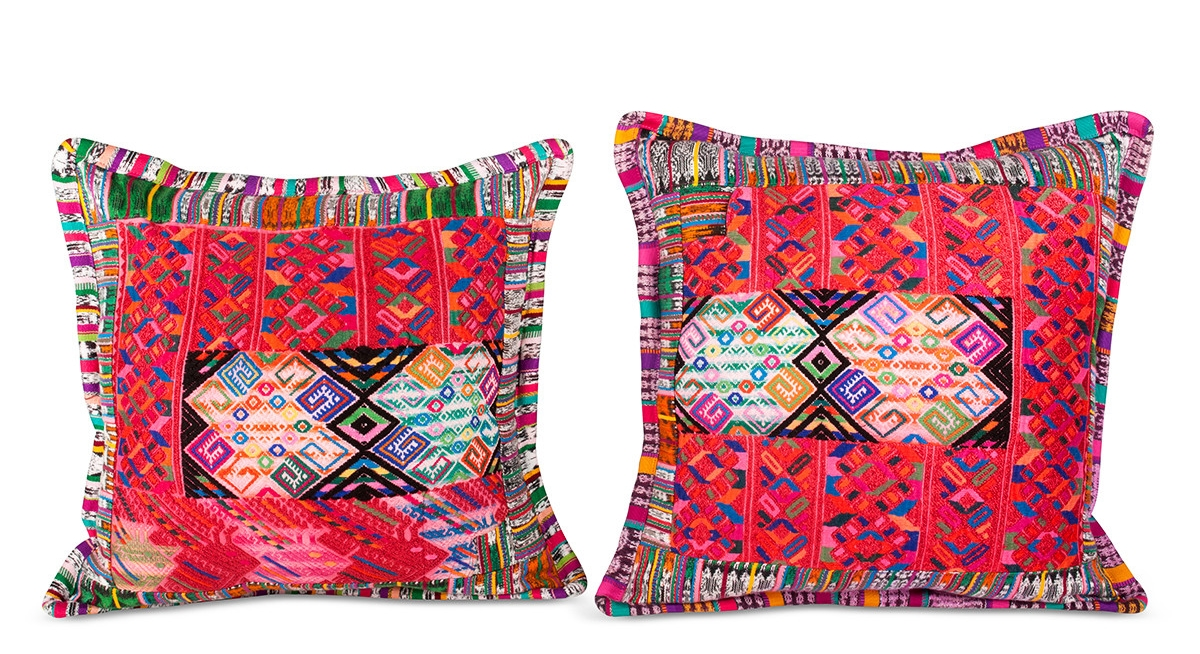 Guatemalan pillows from  Furbish Studio