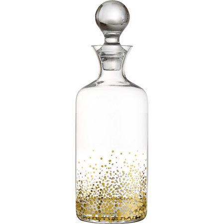 Gold speckled decanter , so fun!