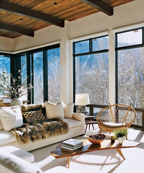 Aspen home of Aerin Lauder,  source