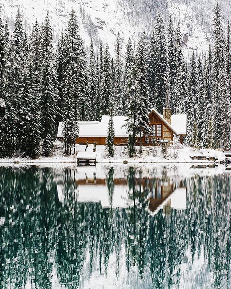 Canadian winters, dreamy.  Source