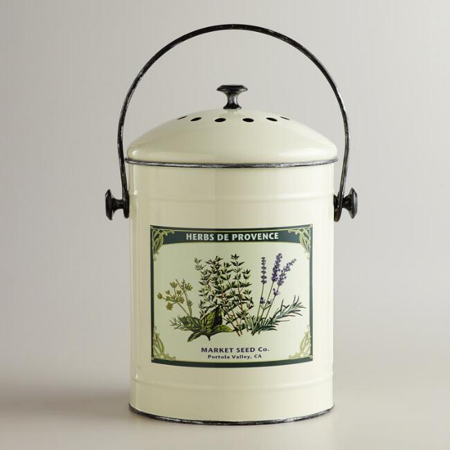 Metal Herb Bucket  from World Market