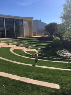 Amphitheater behind CIA Copia. Great place for a picnic!
