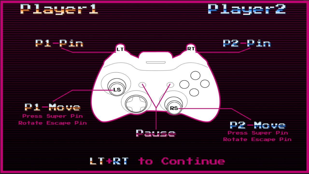 Control layout screen