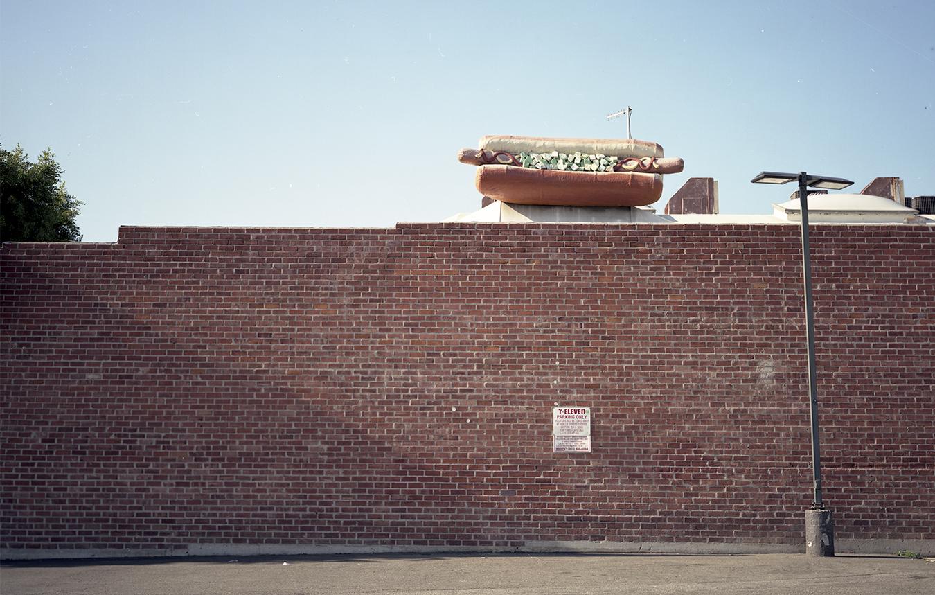 Jenson Hot Dog , 2015. Palms, CA.