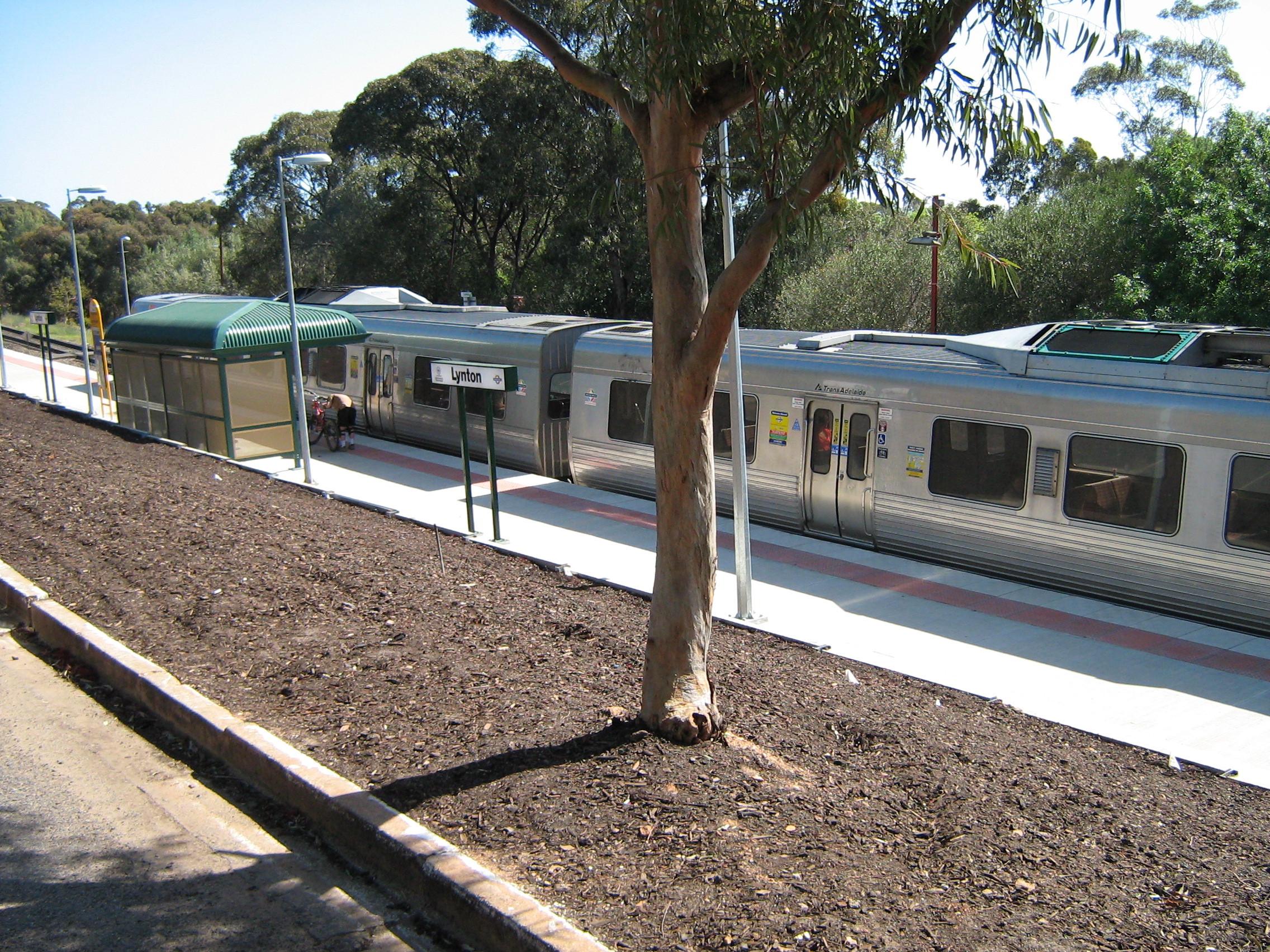 Lynton train station and car park