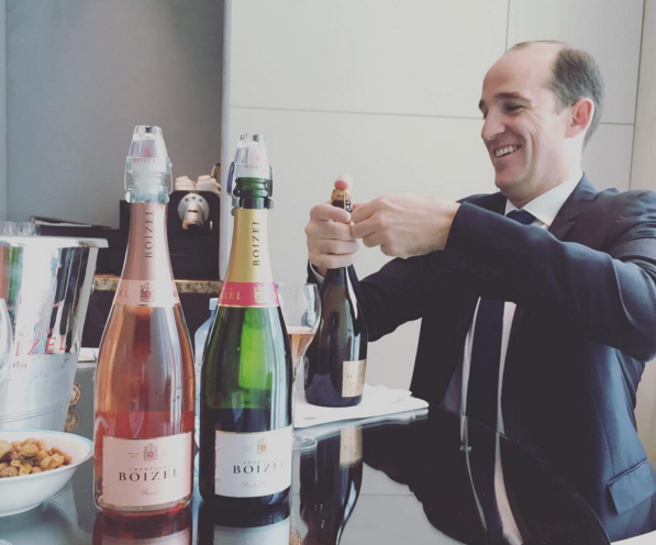 A pretty tough tasting with the delightful Florent Roques Boizel
